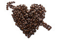 Heart made of coffee beans - PhotoDune Item for Sale
