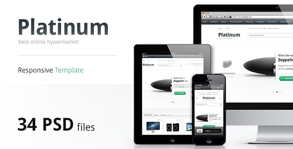 Platinum — Multipurpose PSD Template
