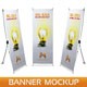X-Banner Mockup - GraphicRiver Item for Sale