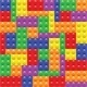 Seamless Background with Lego Block Construction - GraphicRiver Item for Sale