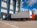 Distribution Center with Trailers Export concept - PhotoDune Item for Sale
