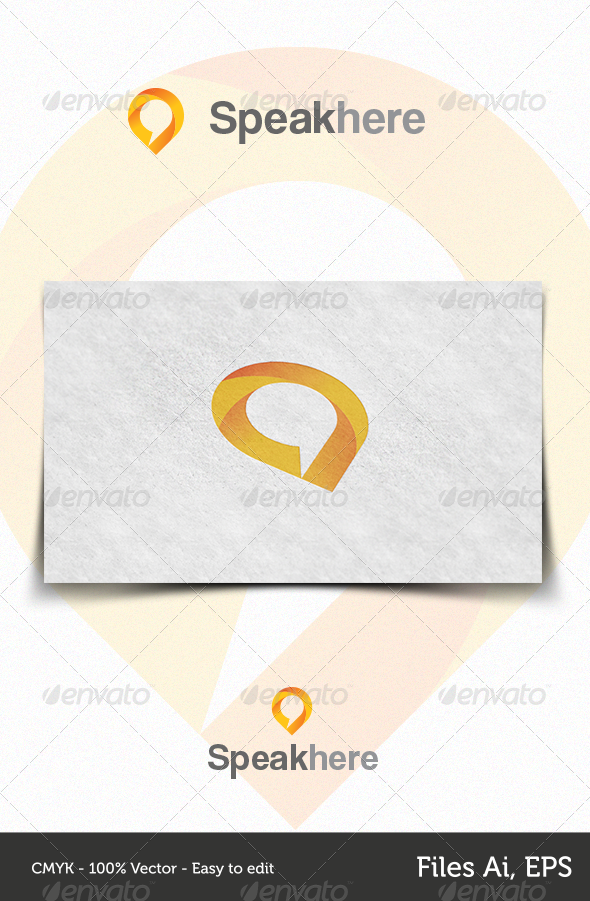 Speakhere - Logo Templates