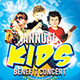 Kids Benefit Concert: Flyer Template - GraphicRiver Item for Sale
