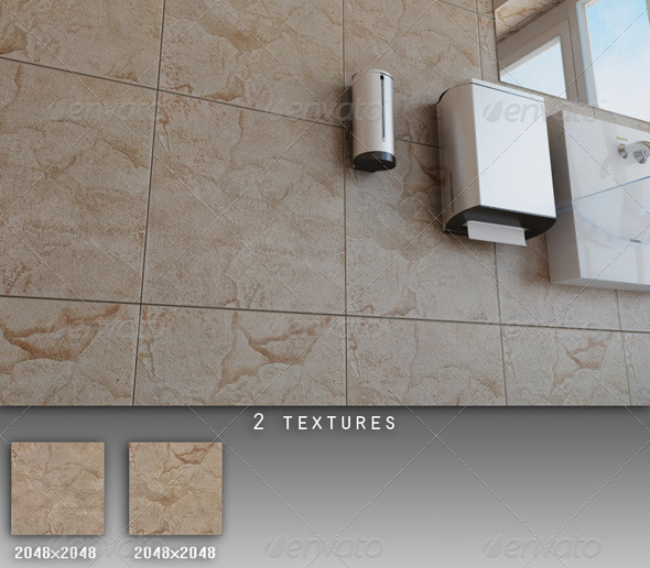 3DOcean Professional Ceramic Tile Collection C002 428263