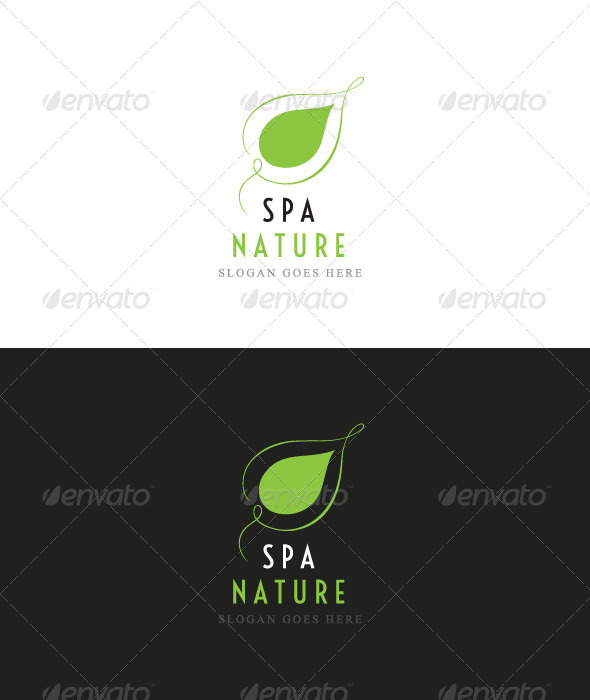 GraphicRiver spa nature logo 4350024