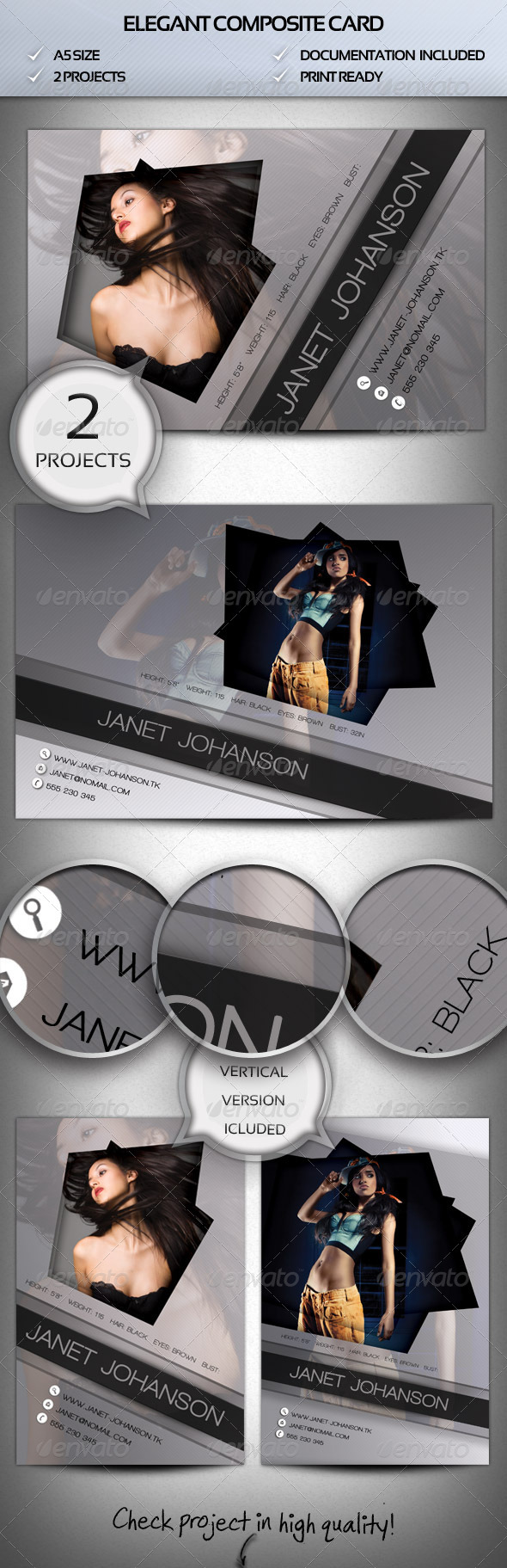 GraphicRiver Elegant Comp Card 4280419