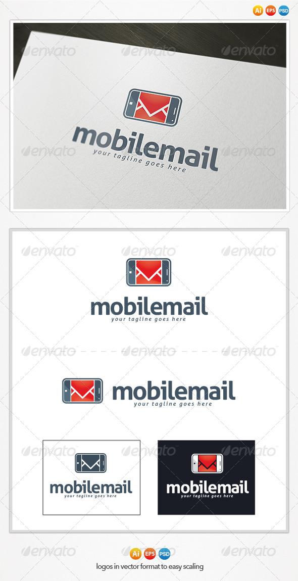 GraphicRiver Mobile Mail Logo 4433149