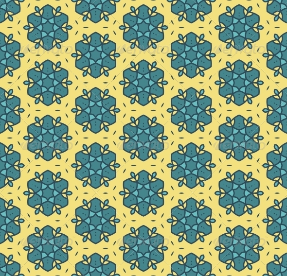 GraphicRiver Seamless Colorful Retro Pattern Background 4433273