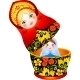 Russian Tradition Matryoshka Doll - GraphicRiver Item for Sale
