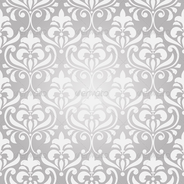 GraphicRiver Vector Seamless Vintage Floral Pattern 4436478