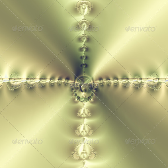 Golden Cross - Stock Photo - Images