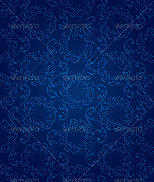 GraphicRiver Vintage Floral Seamless Pattern 4438673