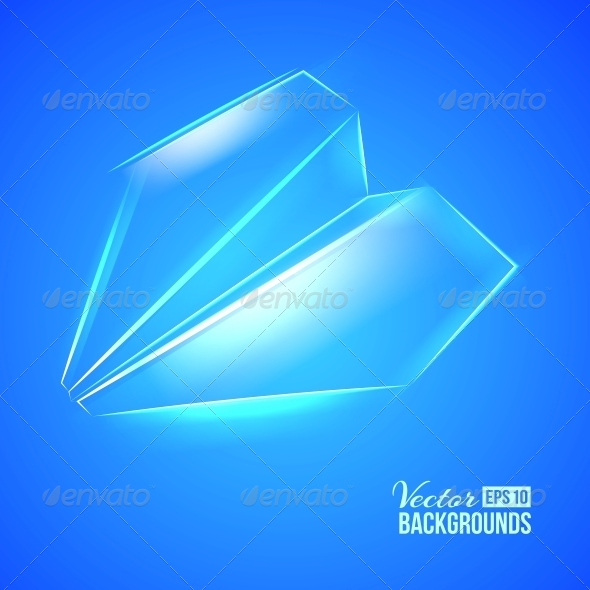 GraphicRiver Paper Airplane 4441222