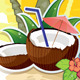 Tropical Landscape Coconut - GraphicRiver Item for Sale