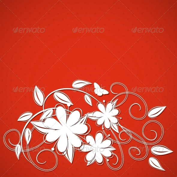 GraphicRiver Floral Background 4443388