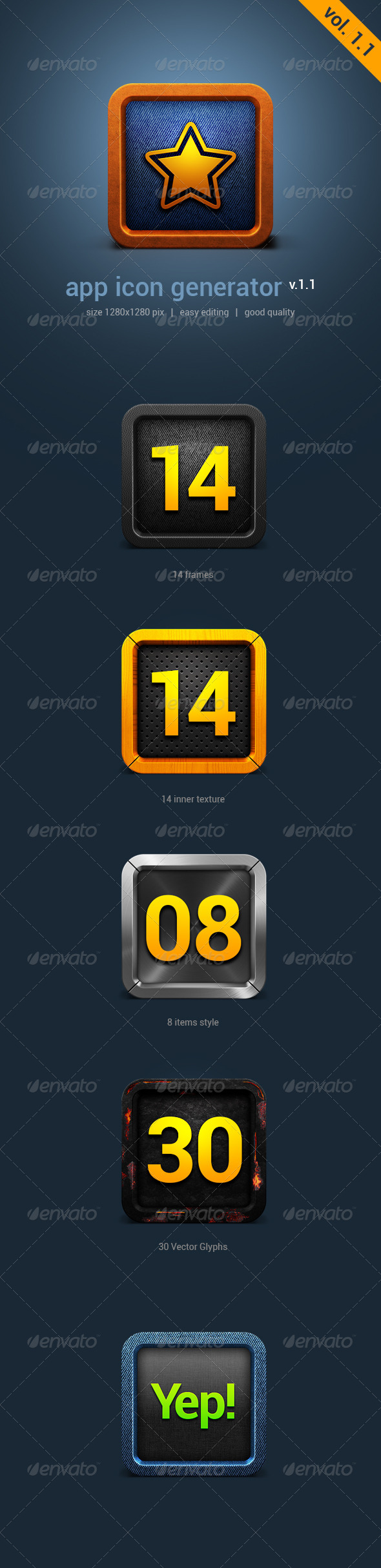 GraphicRiver App Icon Generator V1.0 4394972