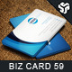 Business Card Design 59 - GraphicRiver Item for Sale