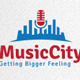 Music City Logo - GraphicRiver Item for Sale