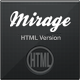 Mirage HTML Version - ThemeForest Item for Sale