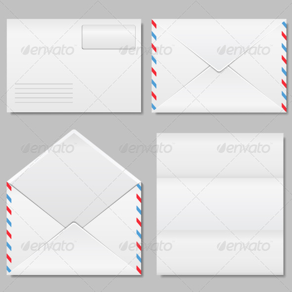 GraphicRiver Envelope and Paper 4445454