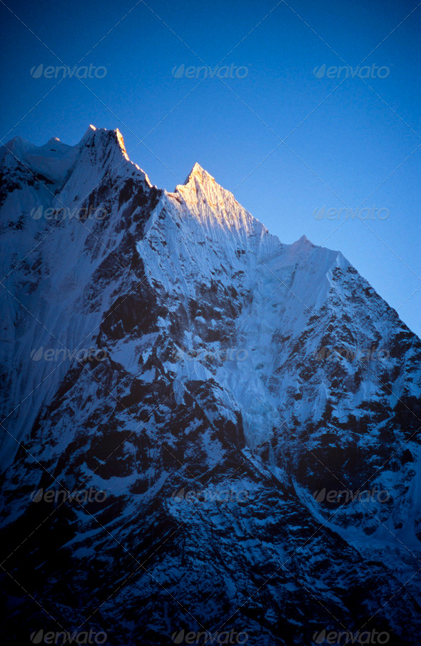 Himalaya Mountains - Stock Photo - Images