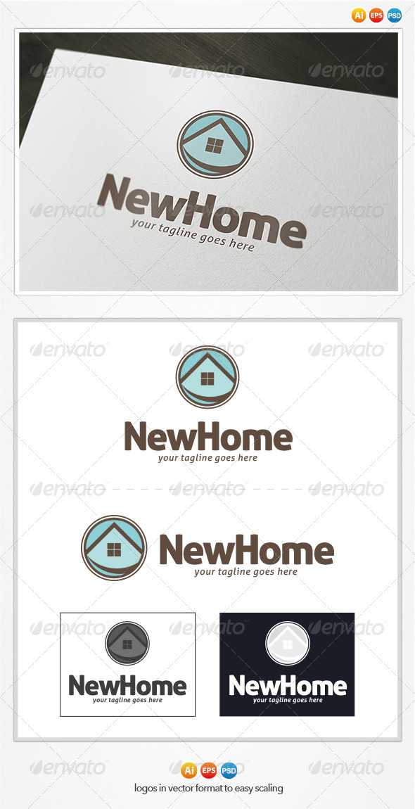 GraphicRiver New Home Logo 4369759