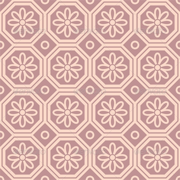 GraphicRiver Pink Ornamental Pattern 4446895