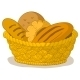Bread in a Basket - GraphicRiver Item for Sale
