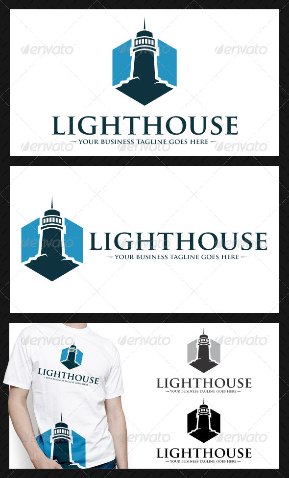 GraphicRiver Lighthouse Logo 4448849