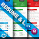 Resume & Letter Templates - GraphicRiver Item for Sale