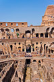 Colosseum Visited by Tourists in a Bright Day  - PhotoDune Item for Sale