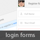 Simple and Clean Login Screen - GraphicRiver Item for Sale