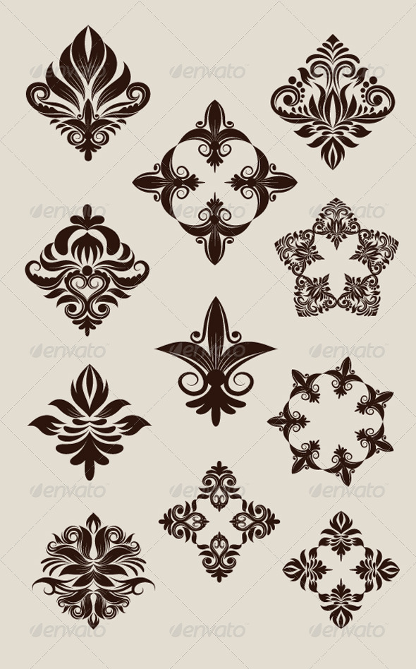 GraphicRiver Icon Decorative Ornament 4451176