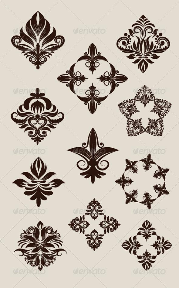 GraphicRiver Icon Decorative Ornament 4451176