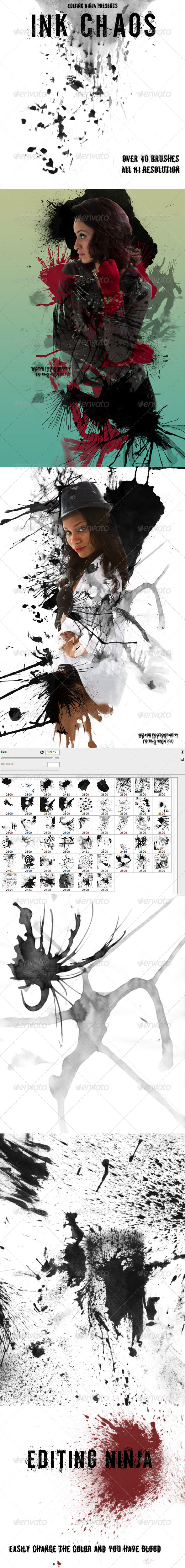 GraphicRiver Ink Chaos 4451300