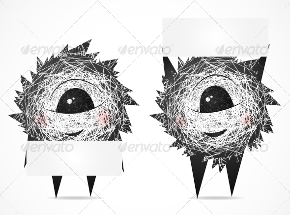 GraphicRiver Fluffy with a Banner 4451532