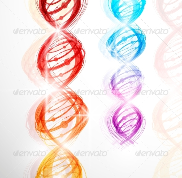GraphicRiver DNA Molecule 4451643