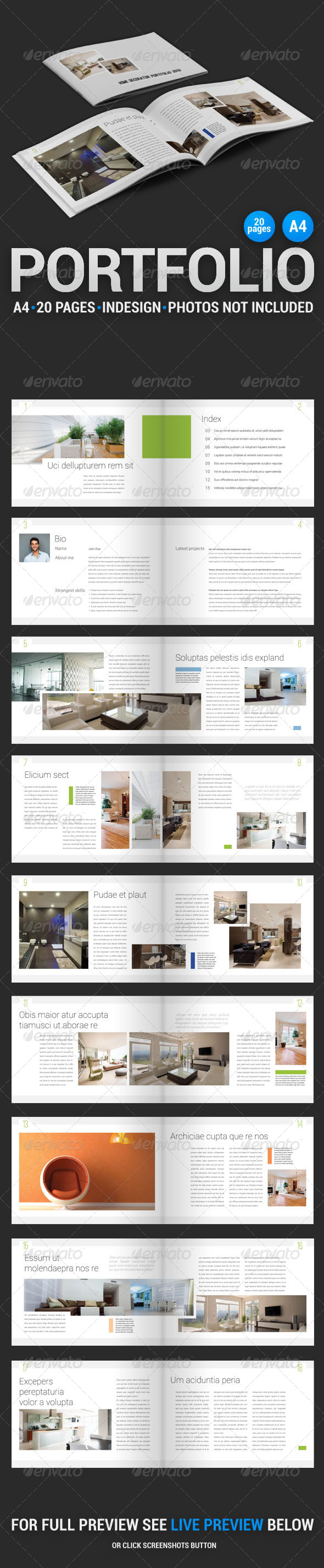 Home Decorator Portfolio 1 - Portfolio Brochures