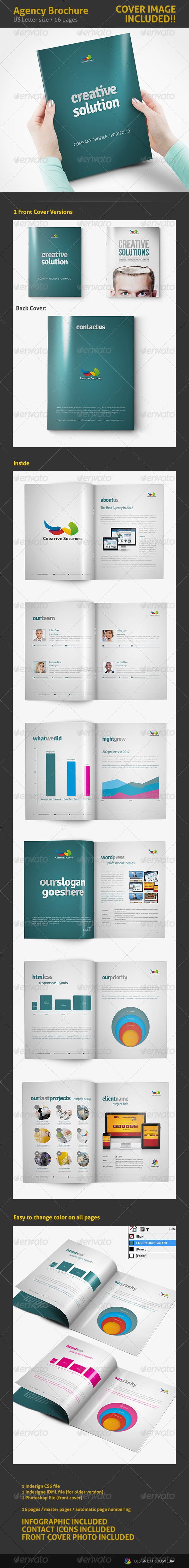 Creative Agency Portfolio / Proposal - Portfolio Brochures