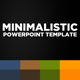 Minimalistic POWERPOINT TEMPLATE - GraphicRiver Item for Sale