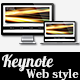 Web Style Keynote Presentation - GraphicRiver Item for Sale