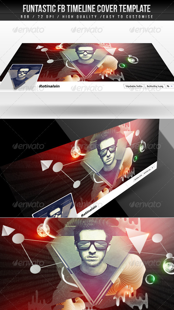 GraphicRiver Funtastic FB Timeline Cover 4453687