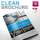 Gstudio Clean Brochure Template V2 - GraphicRiver Item for Sale