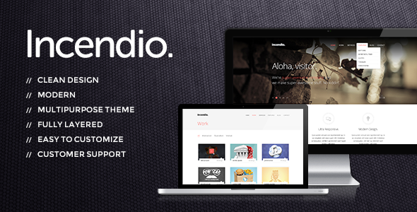 Incendio - Premium Multipurpose PSD Theme