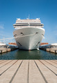 Cruise ship standing at the berth - PhotoDune Item for Sale