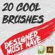 dBrush - 20 Cool Brush - GraphicRiver Item for Sale