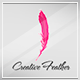 Creative Feather Logo Template - GraphicRiver Item for Sale