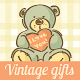 Kids Vintage Hand-drawn Festive Set - GraphicRiver Item for Sale