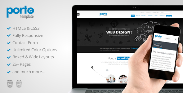 Porto - Responsive HTML5 Template