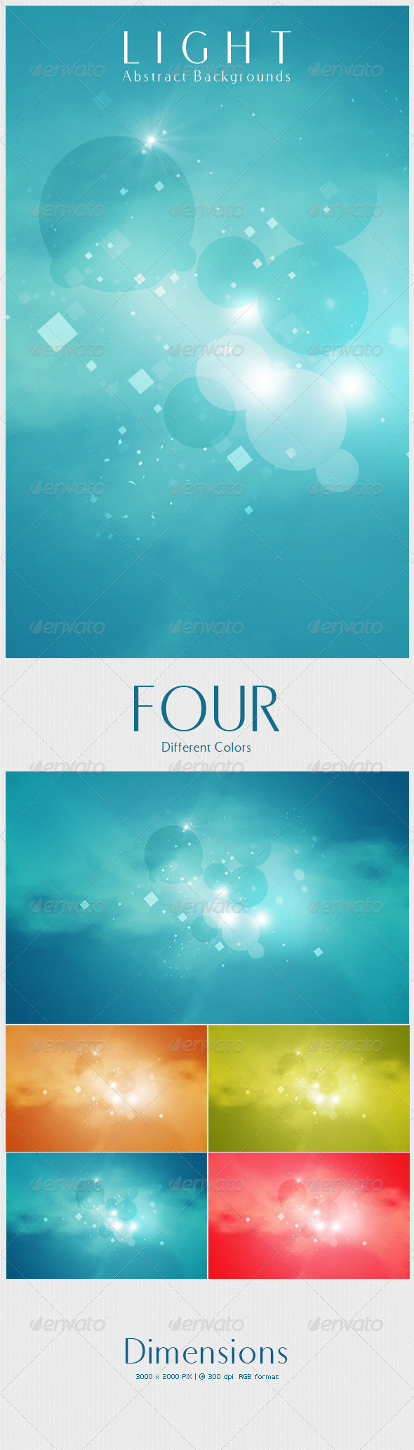 GraphicRiver Light Abstract Backgrounds 4456683